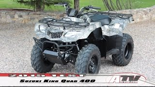 ATV Television - 2015 Suzuki King Quad 400 Test