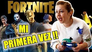 JUGANDO FORNITE EN PS4 POR PRIMERA VEZ !!  Campeando De Lo Lindo !!