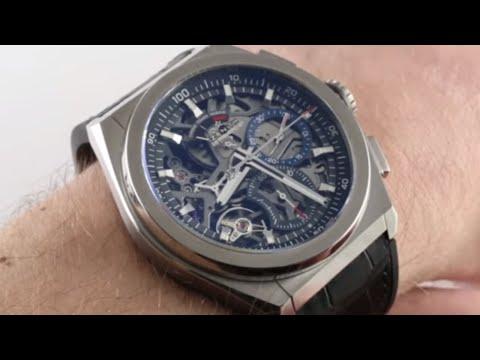At Last! Zenith DEFY EL PRIMERO 21 Ref. 95.9000.9004/78.R582 Luxury Watch Review