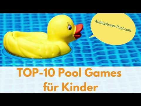20 Spiele, mit dennen ein Pool so richtig spaß macht