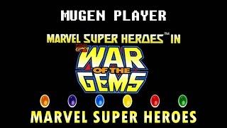 MARVEL SUPER HEROES WAR OF THE GEMS MUGEN 2016 [DOWNLOAD]