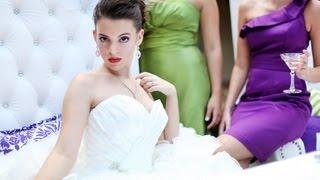 Modern Purple And Green Wedding Inspiration - Toledo Weddings - Toledo Wedding Hair And Makeup