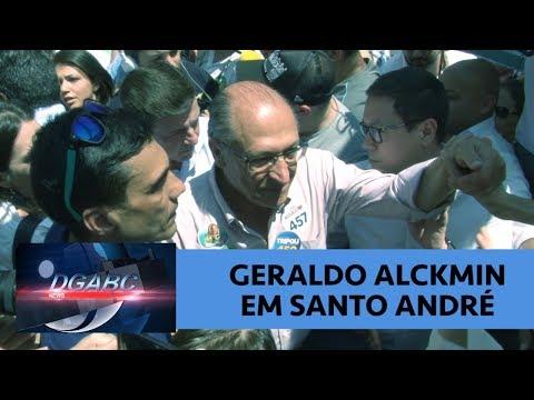 Eleições 2018: Geraldo Alckmin faz campanha em Santo André