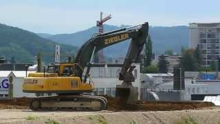preview picture of video 'Bagger Liestal CH 2'
