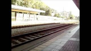 preview picture of video 'Treno 4966 alla Stazione di Chiavenna'