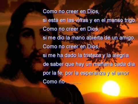 COMO NO CREER EN DIOS - WILKINS (MÚSICA Y LETRA)