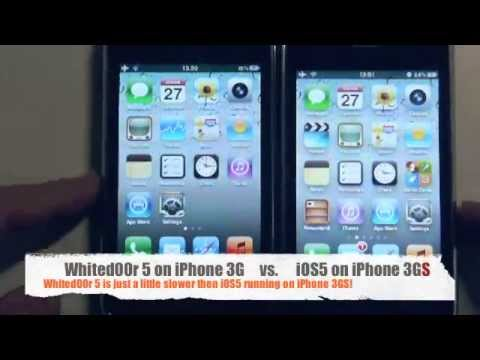 Whited00r Looks Like iOS5 But Runs On Apple Legacy Hardware