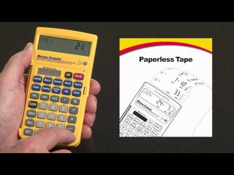 Material Estimator - Paperless Tape