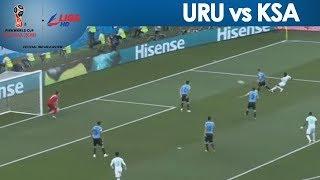 2018 FIFA: Fahad Almuwallad keeps Uruguay on its toes with determined strike