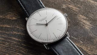 Junghans Max Bill Automatic Review - The Best Looking Dress Watch For $1,000