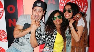 Varun Dhawan & Shraddha Kapoor Promote ABCD 2 @ 93.5 Red FM