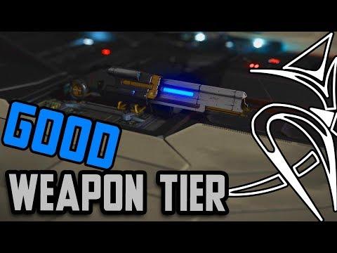 BEST to WORST: GOOD weapon tier (Multicannon,Plasma accelerators,Pulse & burst lazor)