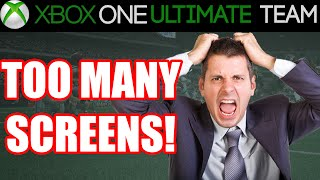 Madden 15 - Madden 15 Ultimate Team - TOO MANY SCREENS | MUT 15 Xbox One Gameplay