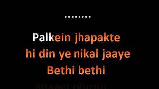 Agar Tum Saath Ho Karaoke song Tamasha Arijit Singh
