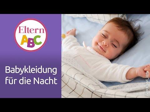 Baby-Schlaf: Was sollte mein Baby im Bett anhaben? | Baby | Eltern ABC | ELTERN | Elternratgeber