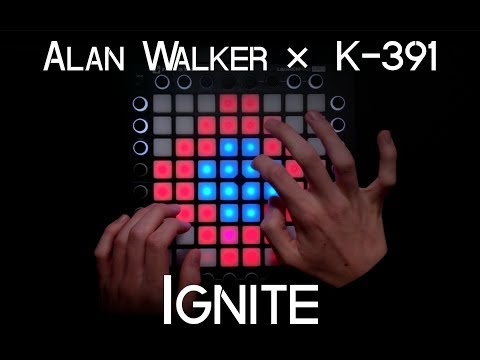 Alan Walker ✕ K-391 - Ignite (ft Julie Bergan & Seungri) | Launchpad Pro Cover + Project File