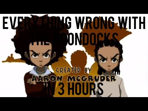 everything wrong with the boondocks season 1 in 3 hours