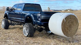 The AnyLevelLift Round Bale Hauler and Parallel Parker