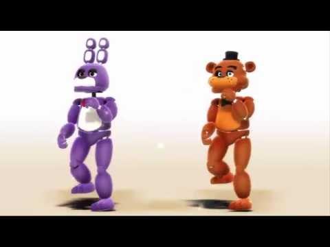 【MMD FNAF】Little Bonnie & Freddy - TonTon Mae ! / とんとんまーえ! (видео)