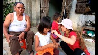 Cô Tuyền cắt Tóc cho mấy Bé Đồng Bào - Hương vị đồng quê - Bến Tre - Miền Tây