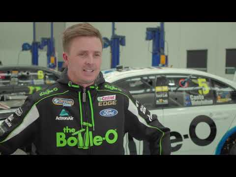 Classic look for Mark Winterbottom at Bathurst