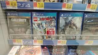 PS4 Games at Walmart - Dec. 2018