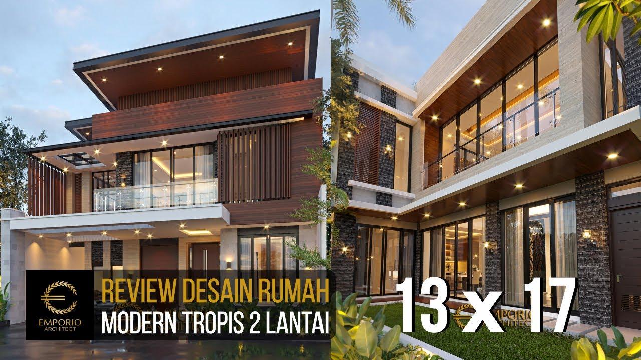 Video 3D Mr. Albert Modern House 2 Floors Design - Bandung, Jawa Barat