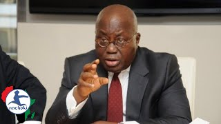 Ghanaian President Warns American Politicians Not to Ignore Africa in Speech