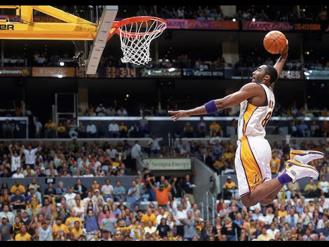 Kobe Bryant Top 10 Career Dunks