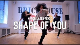 Ed Sheeran - Shape Of You (Major Lazer Remix) || Choreography By Tia Rivera