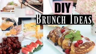 3 Easy Brunch Recipes Vanilla French Toast, Cheesy Baked Eggs Candied Sausage - MissLizHeart