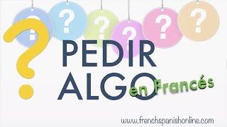 Pedir algo en Francés - Preguntas Negativas