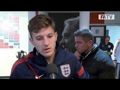 "Adam Lallana ""we gave it a good go"" England vs Germany 0-1"