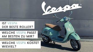 Vespa – Traditionsmarke für Roller | Was kostet eine Vespa? Der beste Roller?
