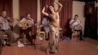 Lissa Fakir Improv with Live music ~ Sira Belly dancer NYC