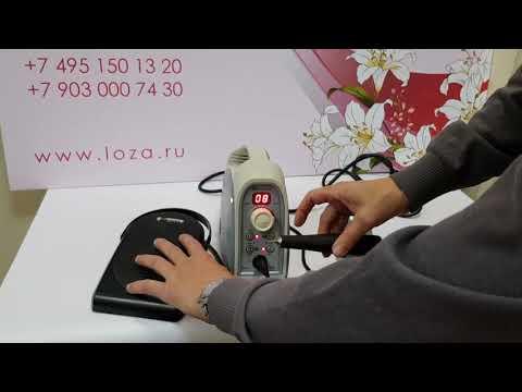 Обзор аппарата для маникюра и педикюра MicroNX AnyXing с ручкой 300S  ручкой 170S