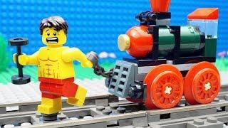 Lego Train Gym Fail   Bodybuilding