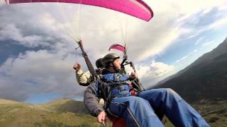 preview picture of video 'Salto en Parapente - 25 de Octubre de 2014'