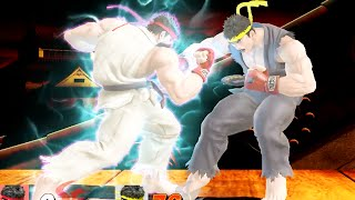 Super Smash Bros. 4 All DLC Final Smashes | Ryu, Lucas, Roy, Mewtwo 60fps (WII U 1080p HD)