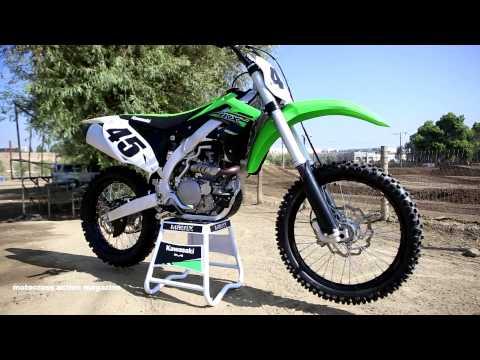 First Ride 2015 Kawasaki KX450F -Motocross Action Magazine