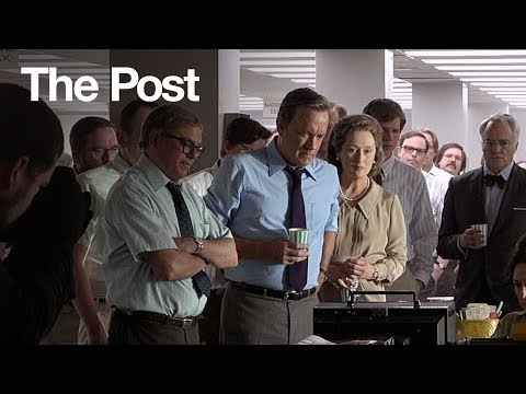 The Post (Featurette 'Steven Spielberg Directs Meryl Streep & Tom Hanks')