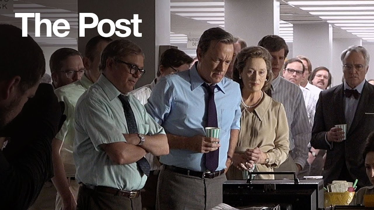 The Post - Steven Spielberg Directs Meryl Streep & Tom Hanks