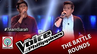 """The Voice Of The Philippines Battle Round """"On Bended Knees"""" By Daniel Ombao And Jason Dy (Season 2)"""