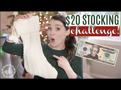 What's in my Kids' Stockings? $20 STOCKING CHALLENGE! | Preschool Twin Boys | Natalie Bennett