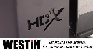 In the Garage™ with Total Truck Centers™: WESTiN HDX Front & Rear Bumpers