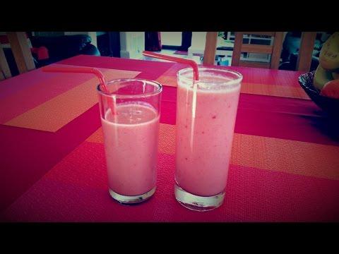 Easy Strawberry Banana Smothie Recipe