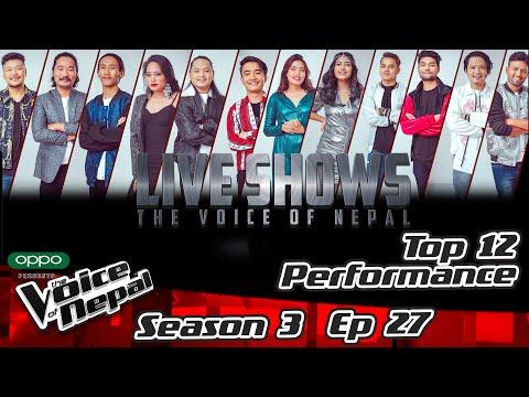 The Voice of Nepal Season 3 - 2021 - Episode 27 (Live Performances)