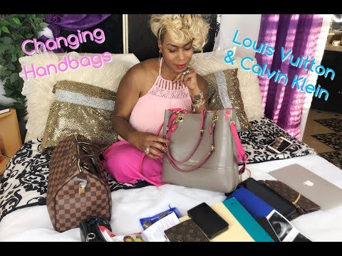 Changing Handbags Louis Vuitton & Calvin Klein + Big Announcement