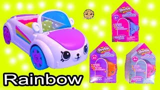 Rainbow Beach Petkinz Car ! Happy Places Shopkins Surprise Blind Bags