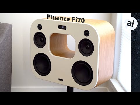 Comparing Apple's HomePod versus the Fluance Fi70 speaker